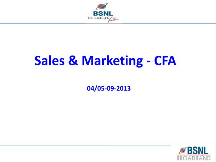 sales marketing cfa n.