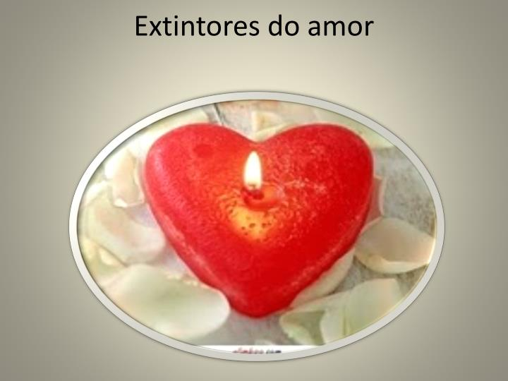 extintores do amor n.