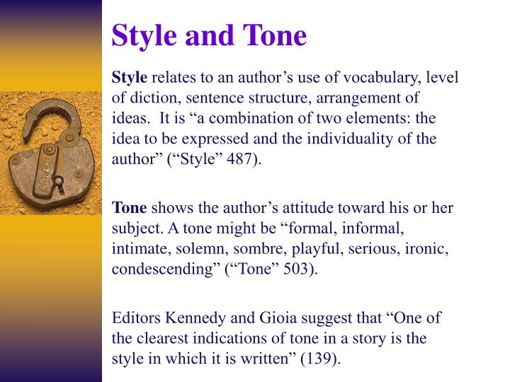 diction and tone Style analysis determining mood and tone in the first betrayal how an author employs patterns of diction, detail, figures of speech, and imagery by using such.