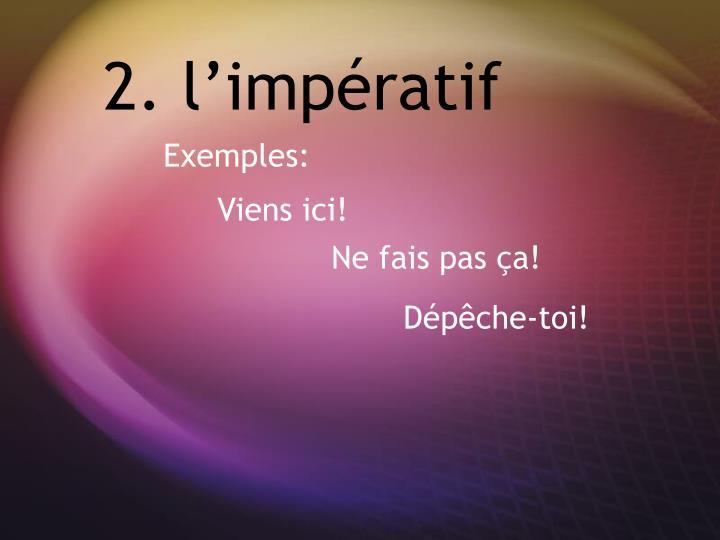 2. l'imp