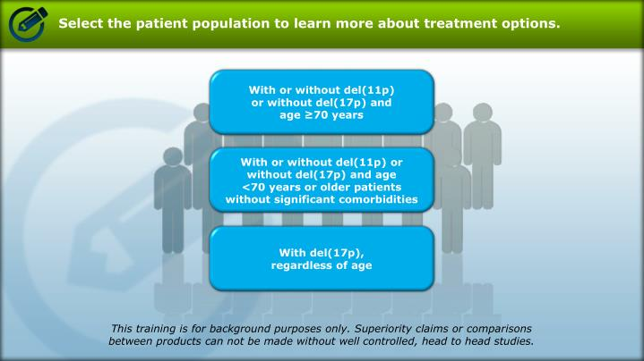 Select the patient population to learn more about treatment options.