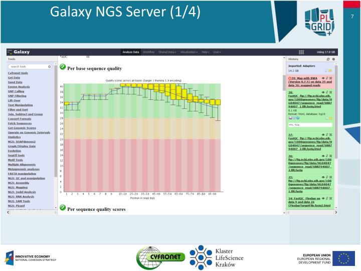 Galaxy NGS Server (1/
