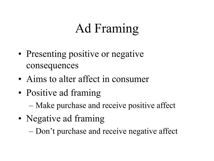 Ad Framing