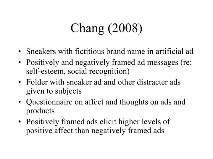 Chang (2008)