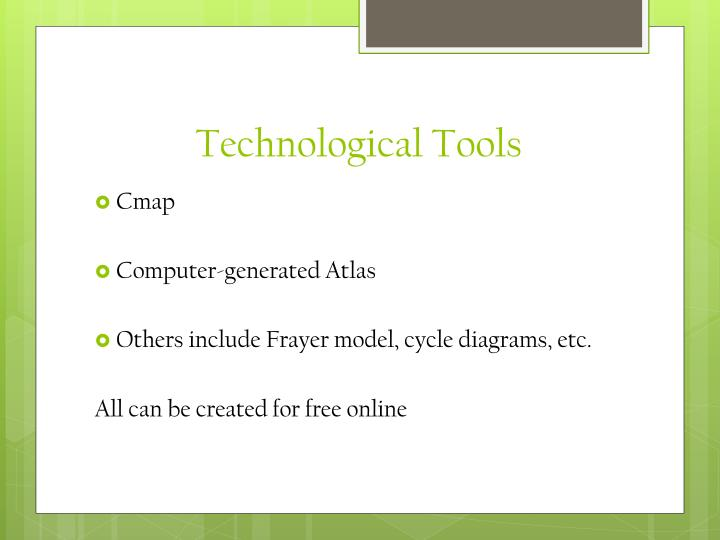 Technological Tools