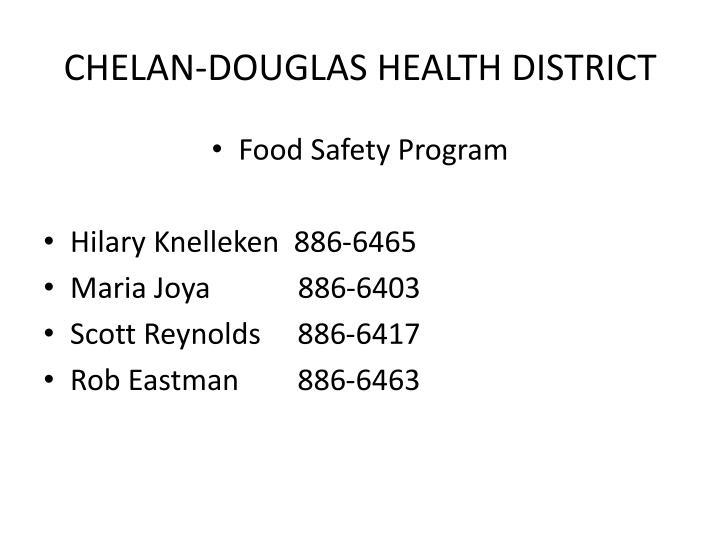 CHELAN-DOUGLAS HEALTH DISTRICT