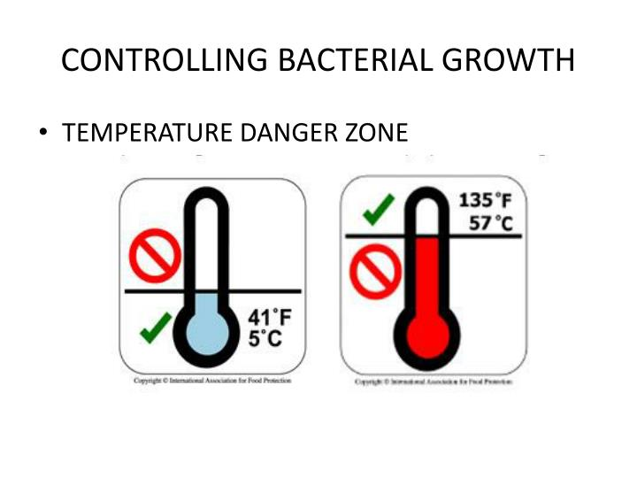 CONTROLLING BACTERIAL GROWTH