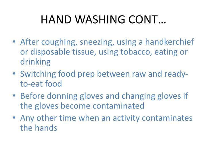 HAND WASHING CONT…