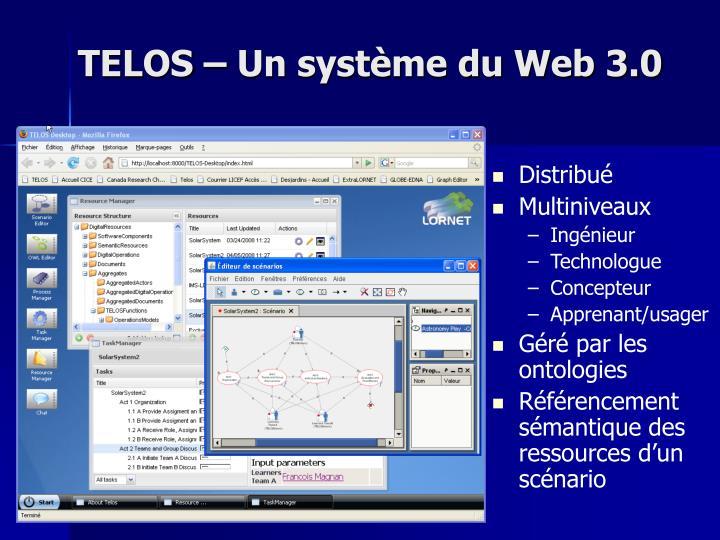 TELOS – Un système du Web 3.0