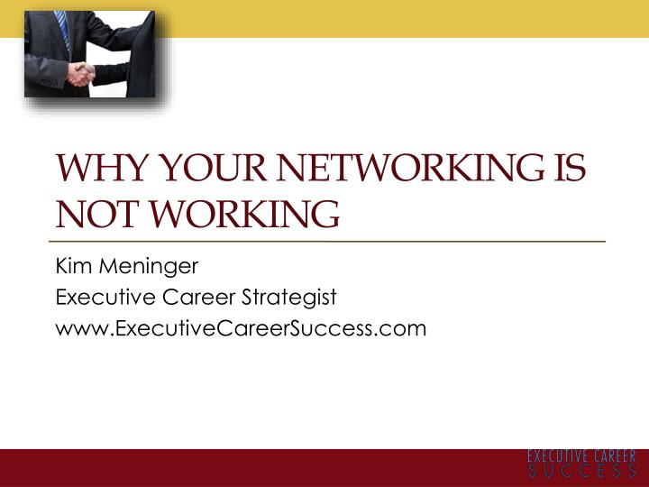 why your networking is not working n.