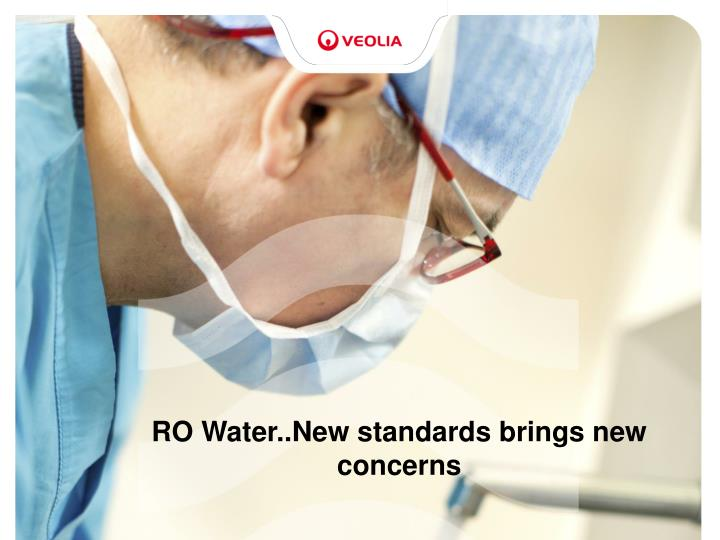 ro water new standards brings new concerns n.