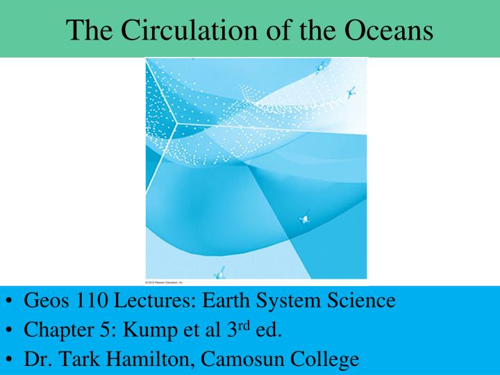 the circulation of the oceans n.