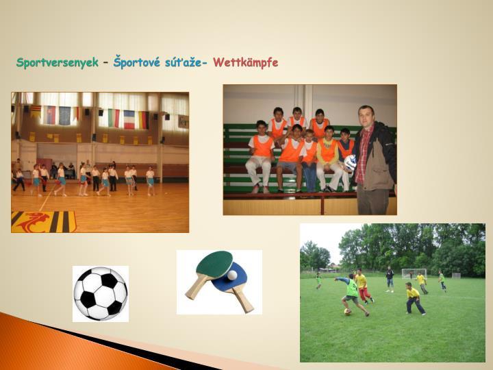Sportversenyek
