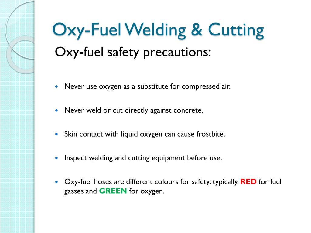 Ppt Welding And Cutting Safety Powerpoint Presentation Free Download Id 6263728