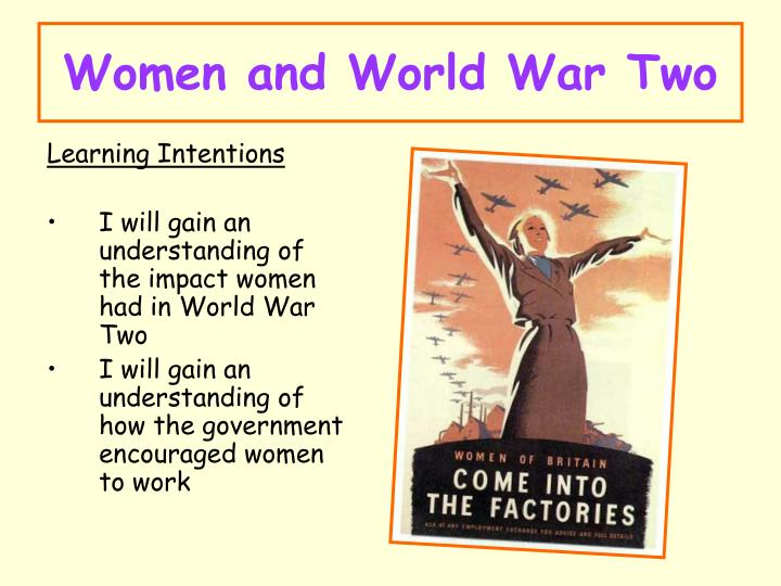 Women and World War Two