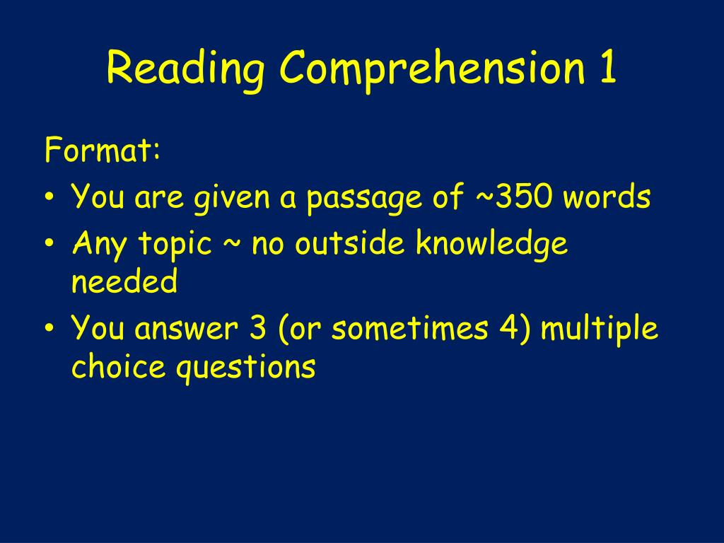 PPT - THE GMAT PowerPoint Presentation, free download - ID ...