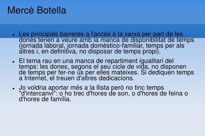 Mercè Botella
