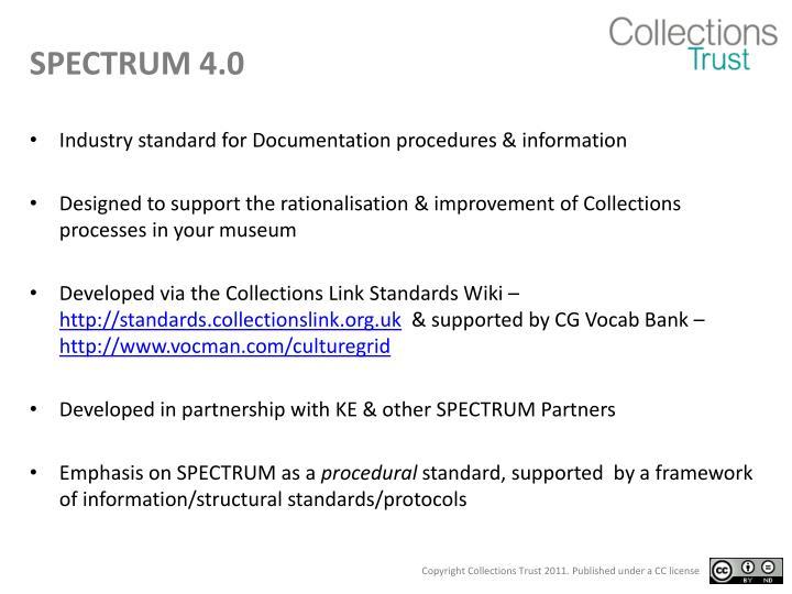 SPECTRUM 4.0