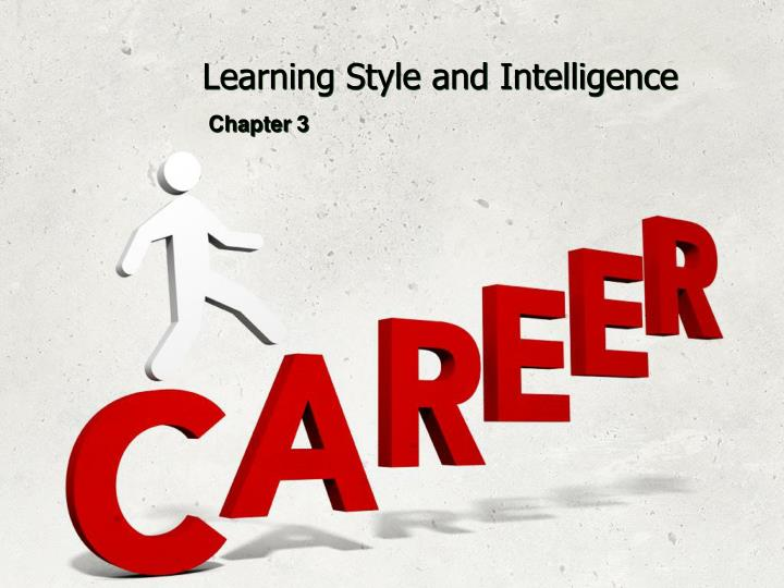 learning style and intelligence n.