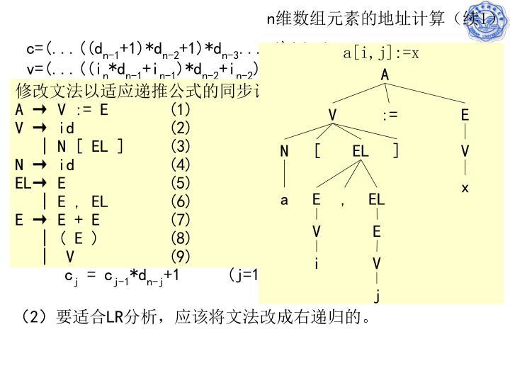 a[i,j]:=x