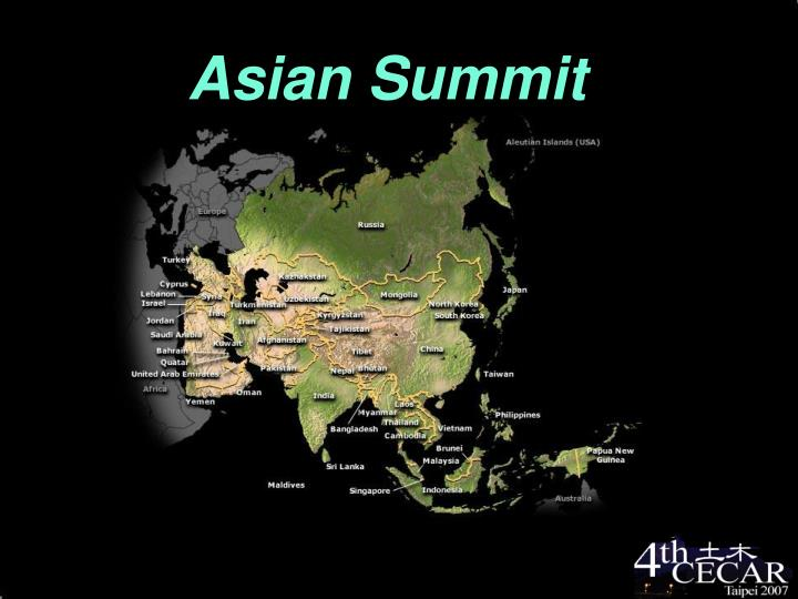 asian summit n.