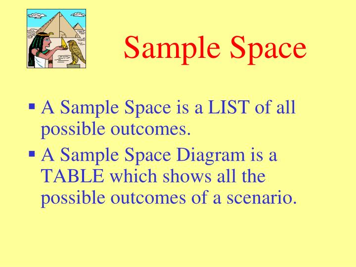 Sample space probability by edustem1 teaching resources tes.
