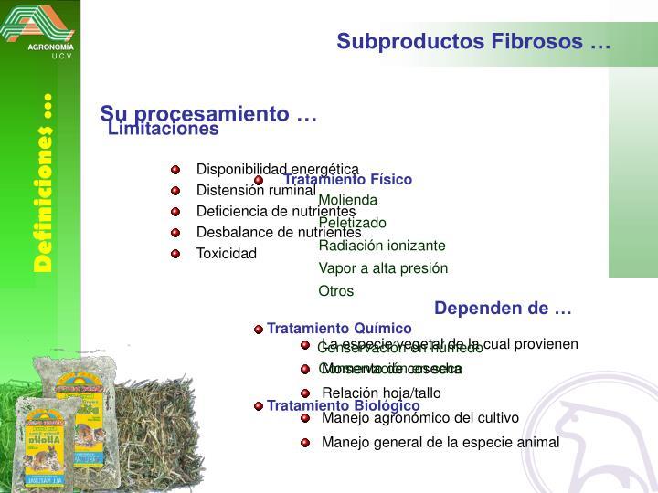 Subproductos Fibrosos …