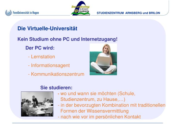 Die Virtuelle-Universität