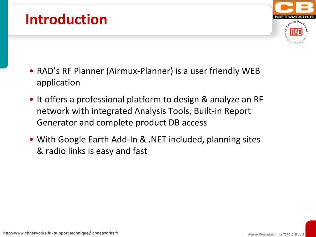 PPT - Airmux-Planner PowerPoint Presentation - ID:6264884