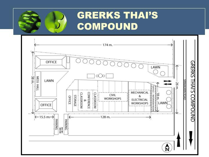 GRERKS THAI'S COMPOUND