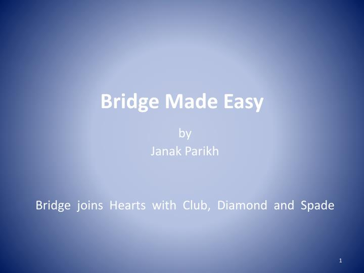 bridge made easy n.