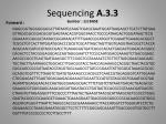 sequencing a 3 3 sumber 1st base