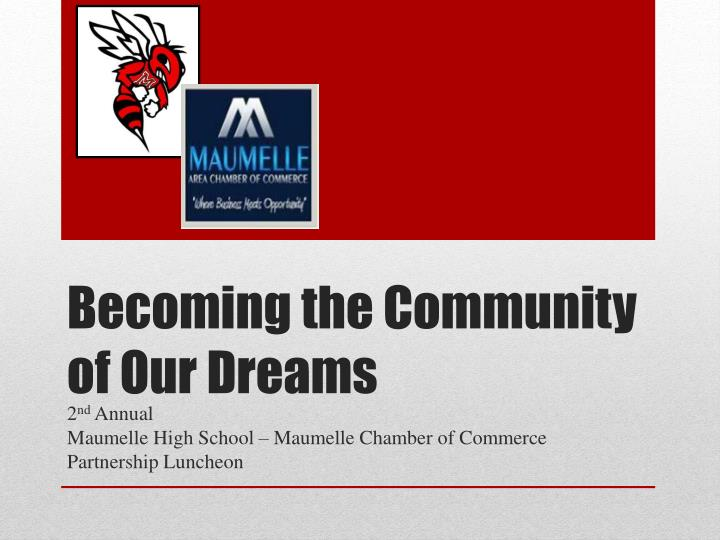 becoming the community of our dreams n.