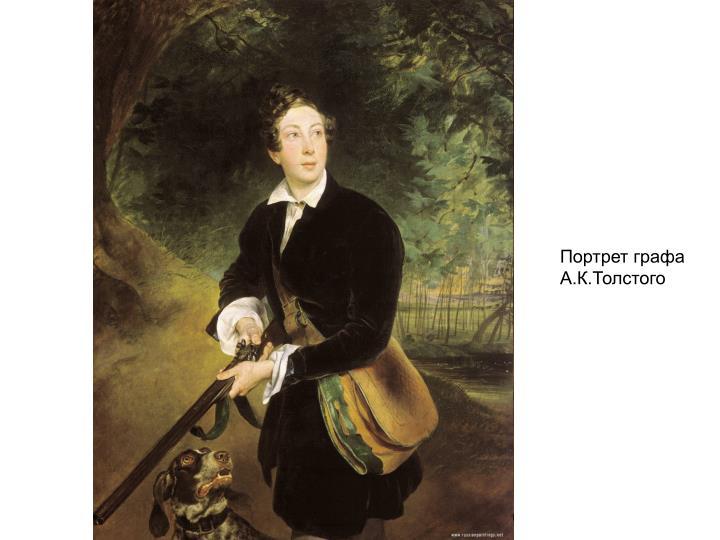 Портрет графа А.К.Толстого