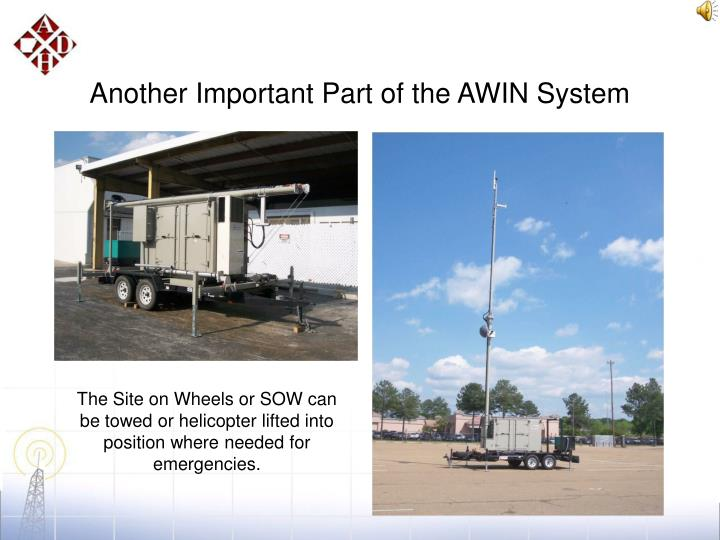 Another Important Part of the AWIN System