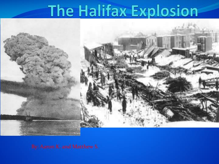 the halifax explosion n.