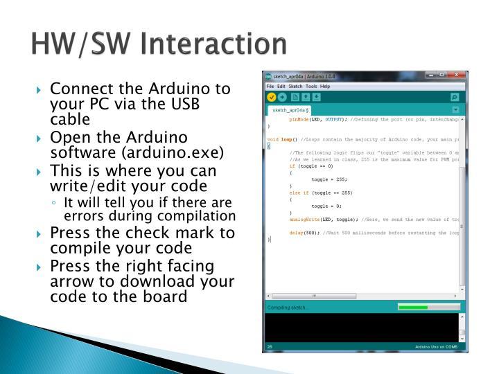 HW/SW Interaction
