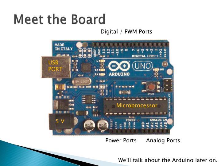 Meet the Board
