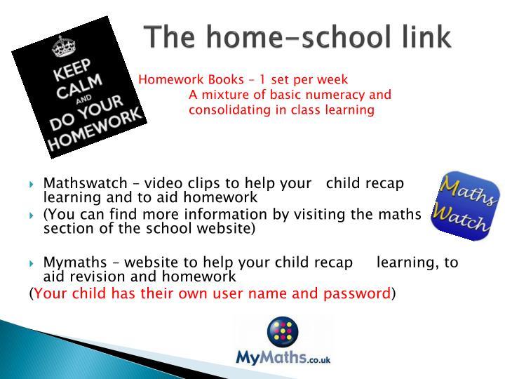 The home-school link