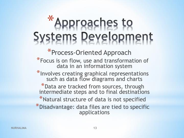 Process-Oriented Approach
