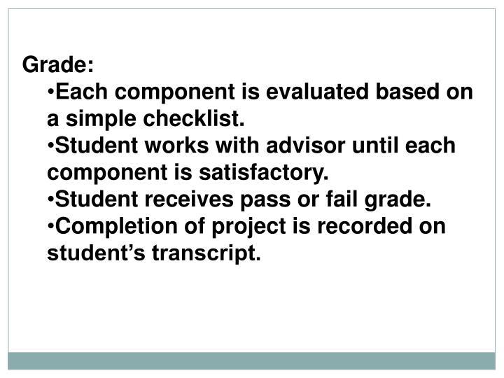 Grade: