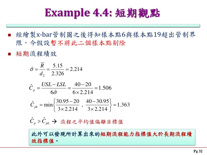 Example 4.4: