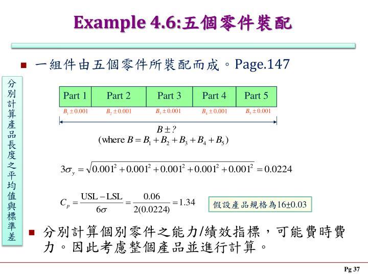 Example 4.6:
