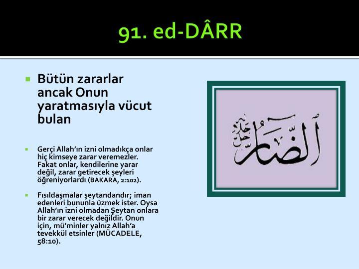 91. ed-DÂRR