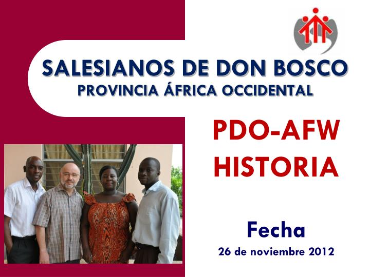salesianos de don bosco provincia frica occidental n.