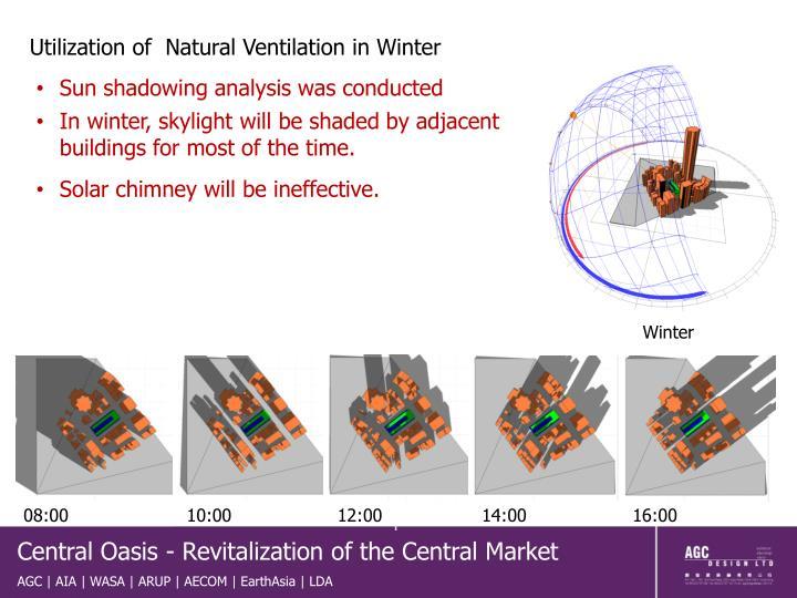 Utilization of  Natural Ventilation in Winter