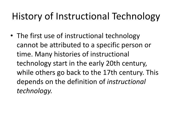 Ppt What Is Instructional Technique In Education Powerpoint