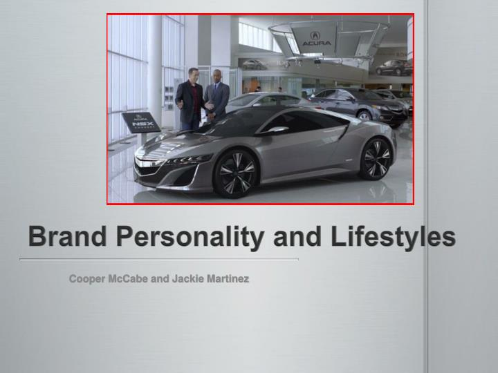 brand personality and lifestyles n.
