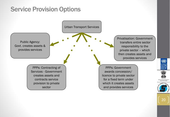 Service Provision Options