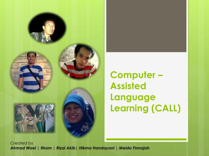 computer assisted language learning call n.